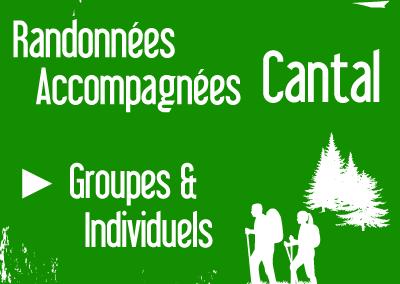 Randonnées Accompagnées dans le Cantal – Groupes et Individuels