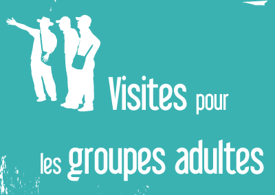 Visites groupes Adultes